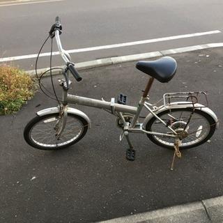 ジャンク自転車ボロ