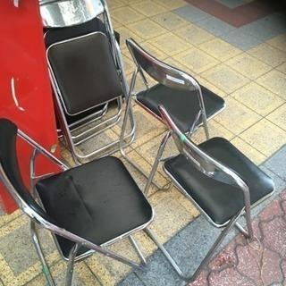 パイプ椅子 折りたたみ