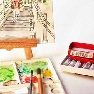 絵手紙教えます♪ 絵手紙教室 初回無料で2回目からは500円です♪