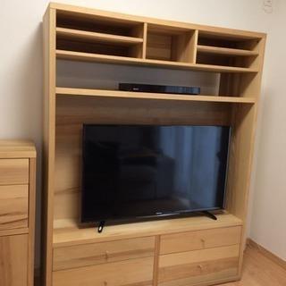 イケアIKEA★TRABY壁面収納テレビボードテレビ台