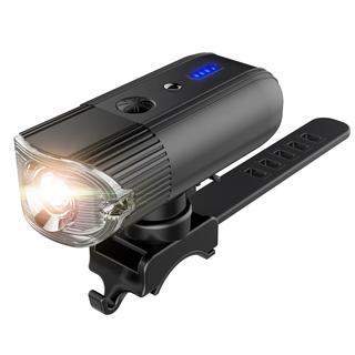 自転車ライト バイクライト充電式4000mAh光度センサー・振動セ...
