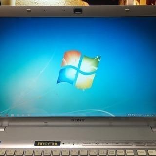 (ジャンク品)ノートパソコン SONY VPCF118FJ