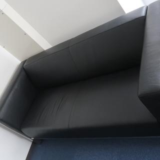革製ソファー 3人がけ