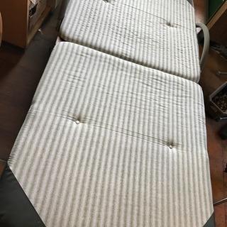値下げしました!折りたたみベッド