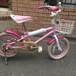 女児用の自転車