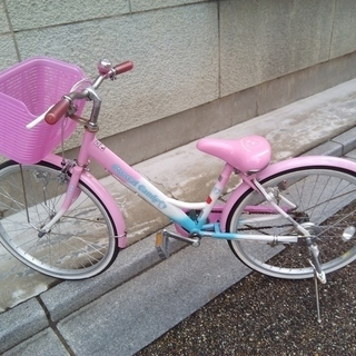 子供用自転車22インチ ピンク