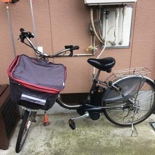 【交渉中です】 ビビDX 電動アシスト自転車を譲ります