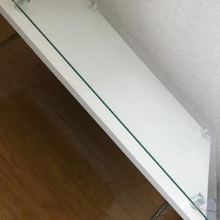折りたたみローテーブル(白)