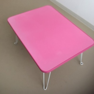キャンディテーブル ピンク