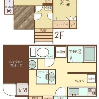 駅から徒歩5分 ◆女性専用シェアハウス◆ 個室46,000~48,...