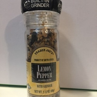 【未開封】レモンペッパー Trader Joe's