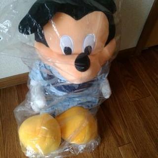 ミッキーマウスのぬいぐるみ 未開封 値下げしました