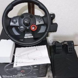ロジクール ドライビングフォースGT (ハンコン)
