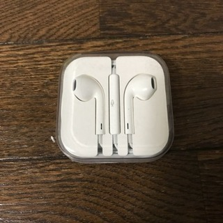 iPhone5s付属純正イヤホン