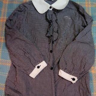 130 ギンガムチェックシャツ