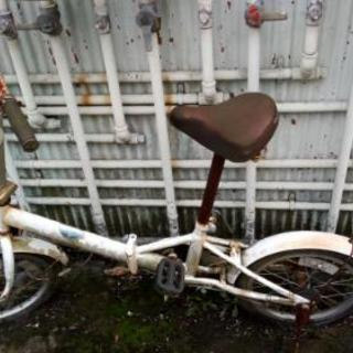 ◆ジャンク折りたたみ自転車