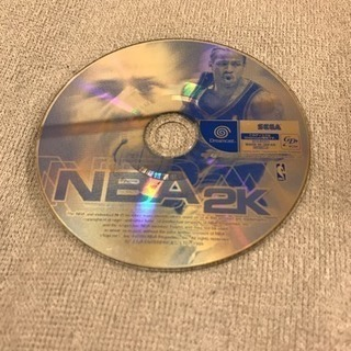 NBA2K ゲームソフト セガサターン おもちゃ バスケット スポ...