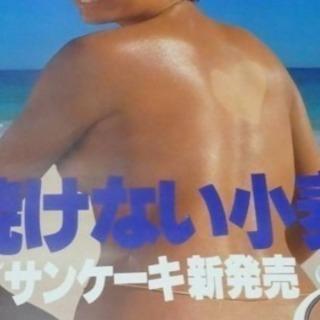 資生堂の山口小夜子  カネボウの夏目雅子のポスター買います