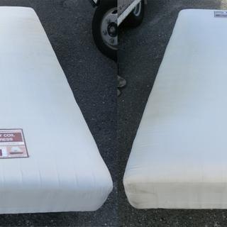 ニトリ製シングルベッド足付きマットレスニューレスト3ゾーン
