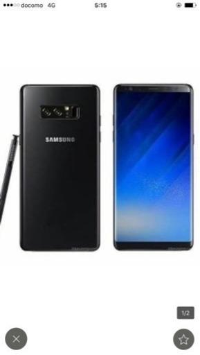 4cdf9d8f78 Galaxy note8 デュアルSIMフリー 海外版 ブラック ブルー ゴールド グレイの画像