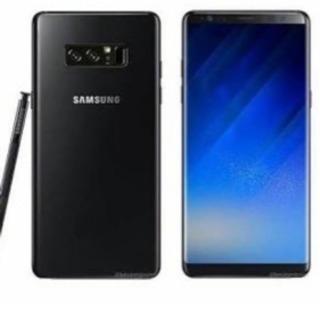 Galaxy note8 デュアルSIMフリー 海外版 ブラック ...