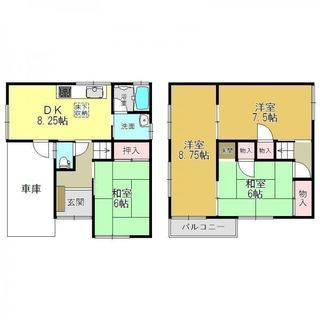 安く住みたい奈良ここ! 4DK軽車庫付きが35000円 近鉄高田市...