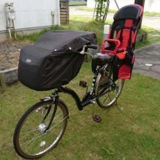 子供乗せ自転車自転車 新品レインカバー付き