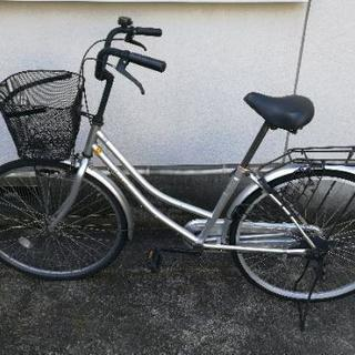 自転車(シルバー)