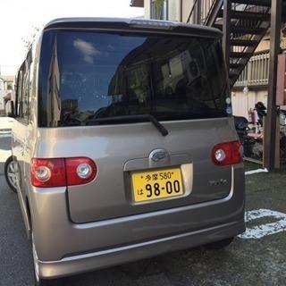 乗り出し18万円、タント Xリミテッド、車検あり、下取り可