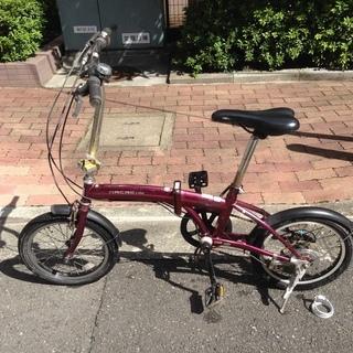 折りたたみ自転車mini 売ります!