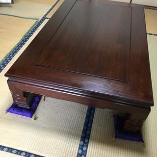座卓/ちゃぶ台/和室 ローテーブル