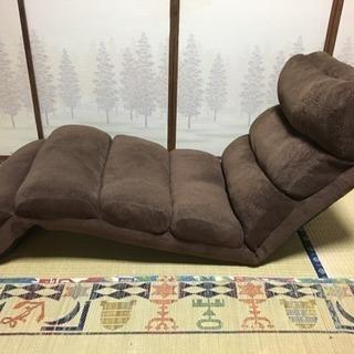 座椅子 リクライニング ハイバックチェア 1人用ソファ