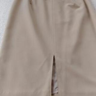 ベージュスカート61cm
