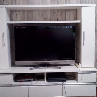 ニトリ テレビボード 鏡面仕上げ カラーホワイト