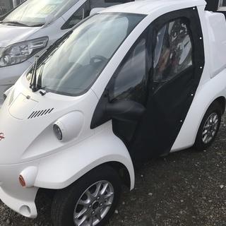 トヨタ コムス 1人乗り電気自動車 車検不要