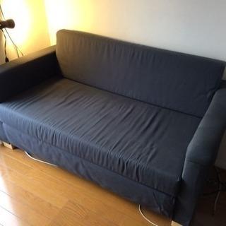 IKEA SOLSTA 2人掛けソファベッド