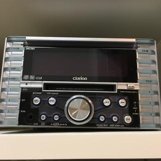 clarion MD/CDカーオディオ