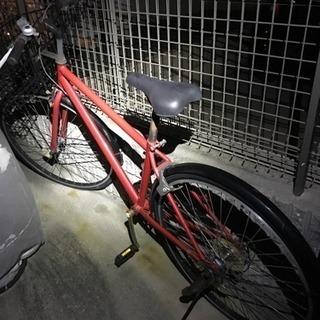 かご付きクロスバイク風自転車
