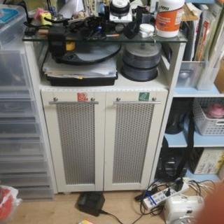 ゴミ箱電話台