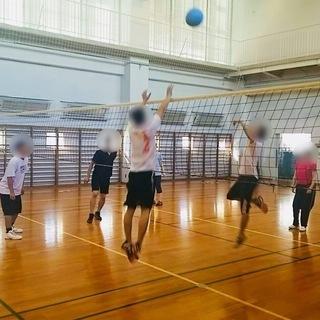 【まるで体育の授業】ソフトバレーボール&バドミントン★10月21日...