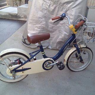 子供用補助なしデビュー自転車14インチ