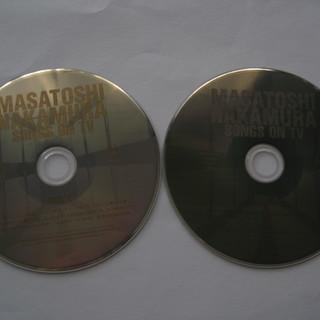 CD *中村雅俊*アルバム 「SONGS ON TV」 DISC...