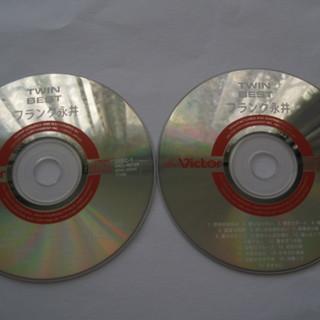 CD  *フランク永井*アルバム 「TWIN BEST」 DISC...