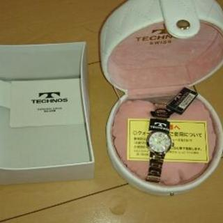 テクノス 女性用 腕時計