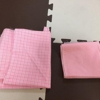 ピンク系ハギレ