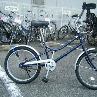 中古自転車47(防犯登録無料)小径車 20インチ ギヤ無し ダイナ...