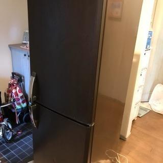2ドア冷蔵庫 三菱 256L ☆木目調☆