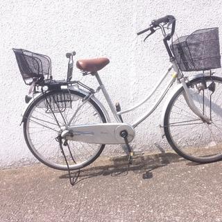 子供乗せ自転車(^^)