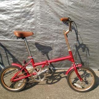 折り畳み自転車 シングルギア 16インチ