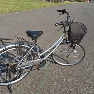26インチ6速自転車